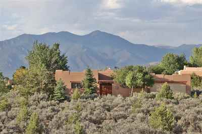 Taos Single Family Home For Sale: 1426 Sharp Street