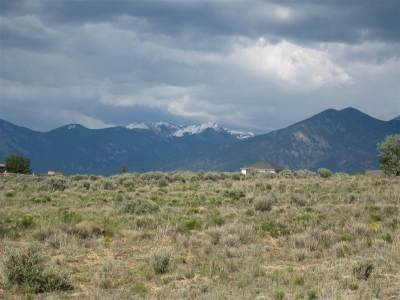 Taos Residential Lots & Land For Sale: Toda Vista Rd