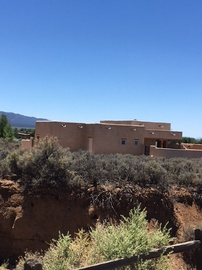 Taos Single Family Home Active-Extended: 1389 Abby Road