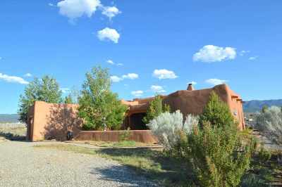 Taos Single Family Home For Sale: 2 Calle De Milagro