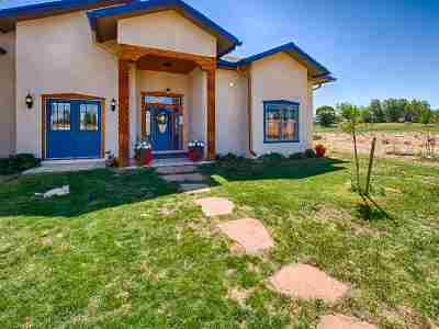 Taos County Single Family Home Active-Price Changed: 127 Los Cordovas Road