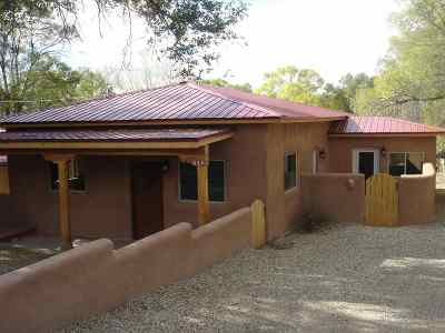 Taos Single Family Home Active-Price Changed: 218 Valverde St