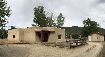Taos County Single Family Home Active/Under Contract: 521 Ab Evergreen Lane