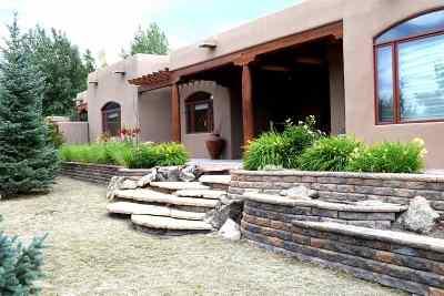 Taos Single Family Home For Sale: 901 Vista Primavera Drive