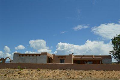 Taos County Single Family Home Active-Extended: 18 Camino De Miguel