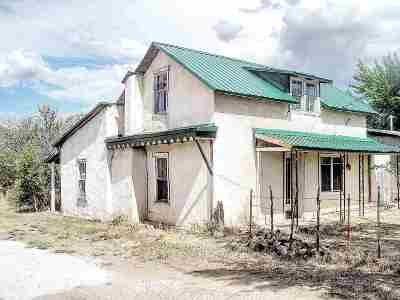 Costilla Single Family Home Active-Extended: 13 State Hwy 196