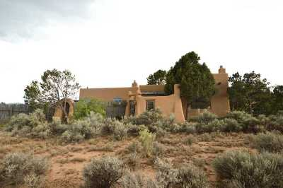 Taos Single Family Home Active/Under Contract: 72 Eototo