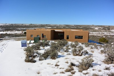 Taos County Single Family Home Active-Price Changed: 9 Camino De Miguel