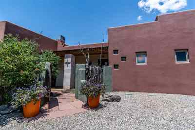 Taos Single Family Home For Sale: 44 Arroyo Park Drive