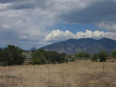 Taos Residential Lots & Land For Sale: Cottonwood Lane
