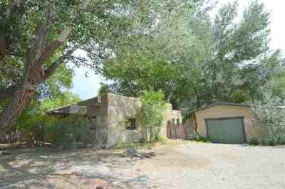Single Family Home For Sale: 531 Upper Ranchitos