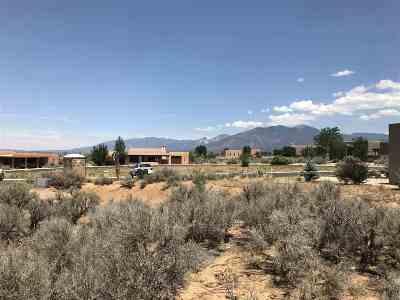 Taos Residential Lots & Land For Sale: Temargo Lane