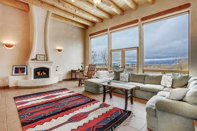 Taos NM Single Family Home Active-Price Changed: $599,000