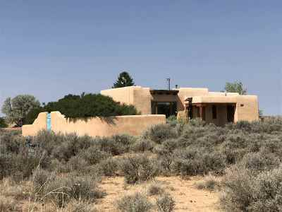 Taos County Single Family Home Active-Price Changed: 8 Wisdom Way