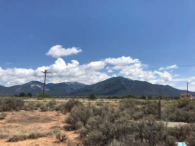 Taos Residential Lots & Land For Sale: * Highway 522