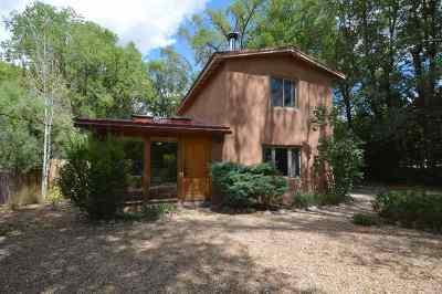 Taos Single Family Home For Sale: 405 Martinez Lane