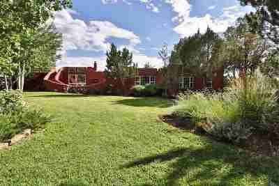 Taos Single Family Home Active/Under Contract: 511 Cruz Alta