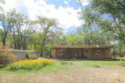 Taos County Single Family Home Active/Under Contract: 55 Valle Lindo Road