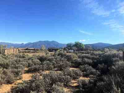Taos Residential Lots & Land For Sale: Critcher