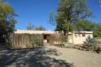 Taos Single Family Home For Sale: 119 Cruz Alta