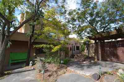 Taos Single Family Home For Sale: 215 Ranchitos Rd
