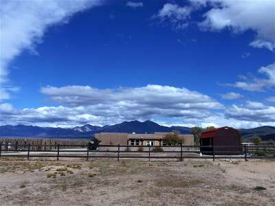 Taos County Single Family Home For Sale: 43a W Romero Road