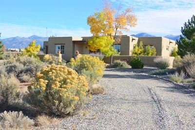 Taos County Single Family Home For Sale: 33 Piedra Vista Road
