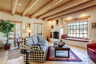 Taos NM Single Family Home Active-Extended: $1,185,000