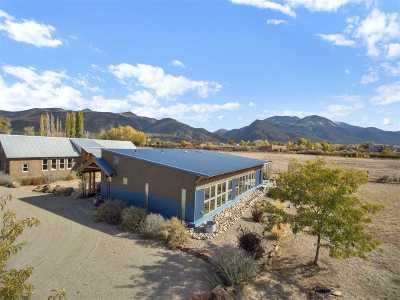 Taos County Single Family Home Active/Under Contract: 16 Macario Lane