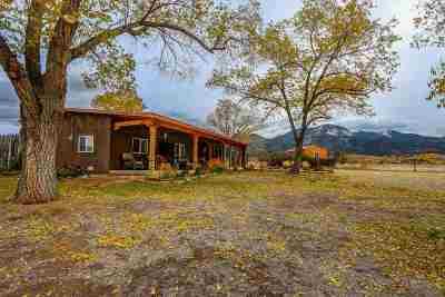 Single Family Home For Sale: 547 Hondo Seco Road