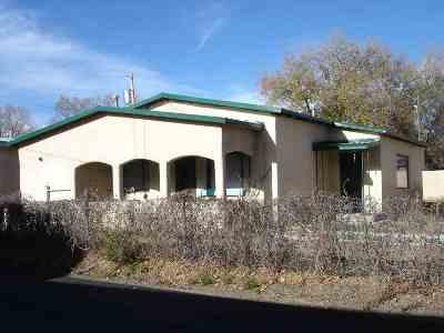 Taos Single Family Home For Sale: 113 San Antonio St