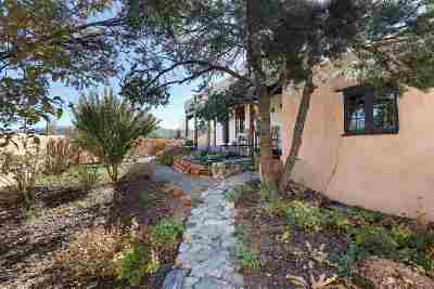 Taos County Single Family Home Active/Under Contract: 1334 Half Moon Road