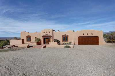 Taos Single Family Home For Sale: 1565 Weimer