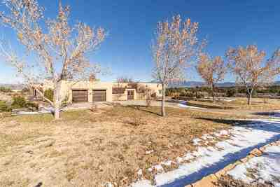 Ranchos De Taos NM Single Family Home For Sale: $1,600,000