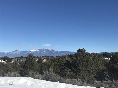 Taos Residential Lots & Land For Sale: Lot 1 Calle Mirador