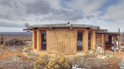 Taos County Single Family Home Active-Price Changed: 141 Mesa Sea Rd