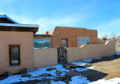 Taos Single Family Home For Sale: 118 Verdolaga Rd