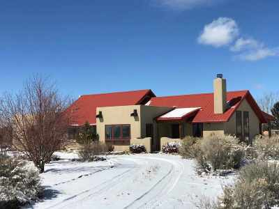 Taos County Single Family Home For Sale: 25 Del Norte Rd
