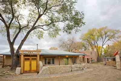 Taos Single Family Home For Sale: 730 Paseo Del Pueblo Norte