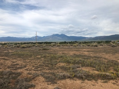 Taos Residential Lots & Land For Sale: Tract A Cuchilla Rd