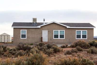Taos County Single Family Home For Sale: 15 Red Sky