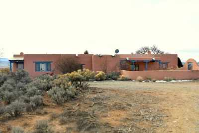 Taos Single Family Home For Sale: 1242 Half Moon Dr