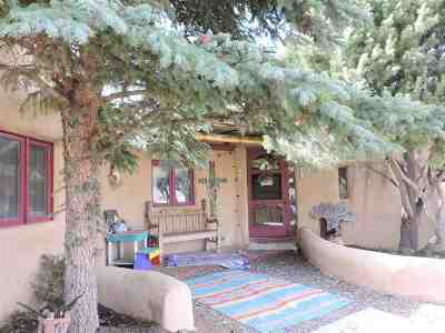 Taos Single Family Home Active/Under Contract: 314 Chamisa Road