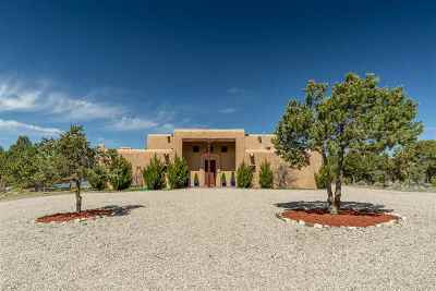 Taos Single Family Home For Sale: 640 Don Nicolas Road