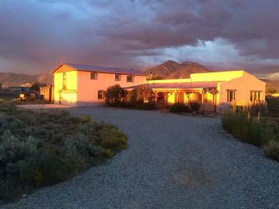 Taos Single Family Home For Sale: 9 Rock Garden Gully