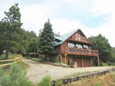 Taos Single Family Home For Sale: 26287 E Us Highway 64
