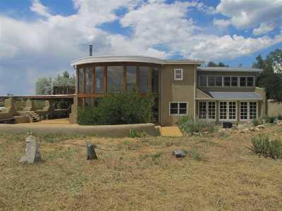 Taos Single Family Home For Sale: 38 Shana Madre
