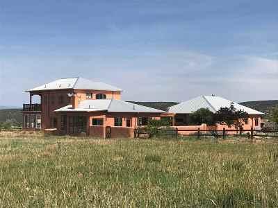Taos Single Family Home Active-Price Changed: 60 Vista Lejos