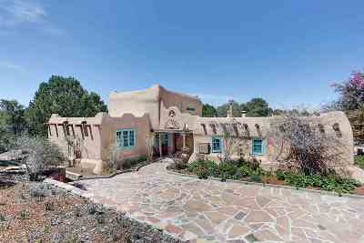 Taos NM Single Family Home For Sale: $649,000