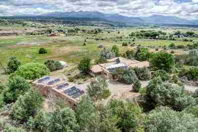 Single Family Home Active-Price Changed: 173 Acequia Madre Del Llano